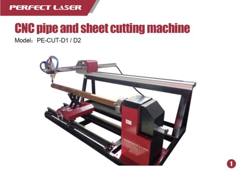 Perfect Laser Plasma laser cutter Plate-tube PE-CUT-D1 D2