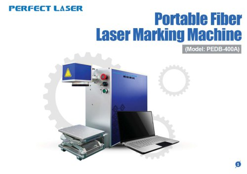 Perfect Laser - Portable Fiber Laser Marking Machine PEDB-400A