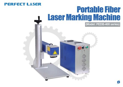 Perfect Laser-Portable Fiber Laser Marking Machine PEDB-400B