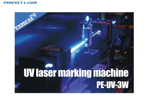 Perfect Laser-UV Marking Machine PE-UV-3W