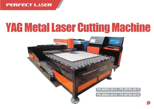 Perfect Laser - YAG Metal Cutting Machine PE-3015 PE-2513  500W 700W