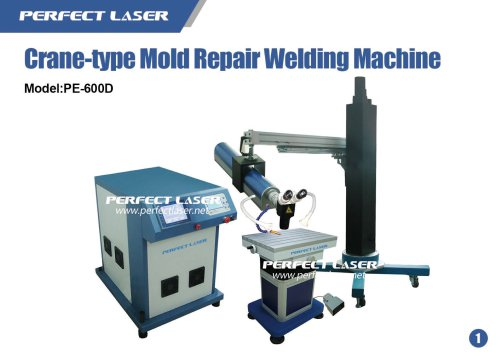 Suspension Arm Type Laser Welder for Mould Die Repair