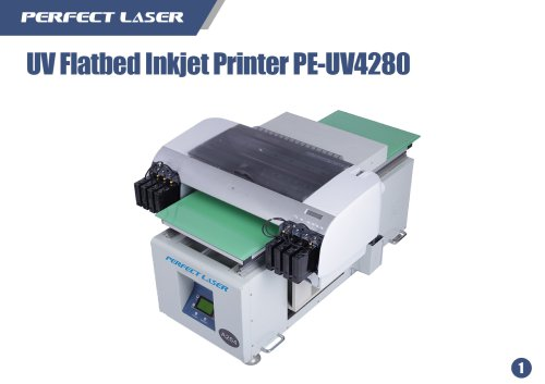 UV Flatbed Inkjet Printer PE-UV4280