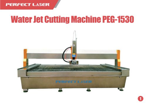 Water Jet Cutting Machine PEG-1530