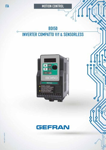 BDI50 - INVERTER COMPATTO V/f & SENSORLESS