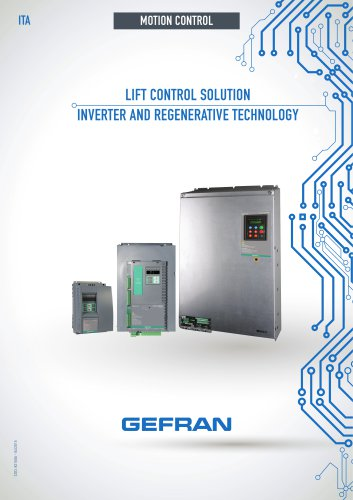 LIFT CONTROL SOLUTION INVERTER AND REGENERATIVE TECHNOLOGY