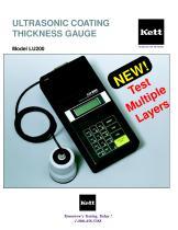 LU200 Ultrasonic Coating Thickness Gauges