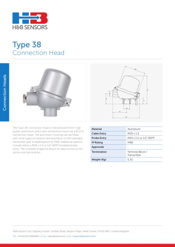 Connection Heads Type 38
