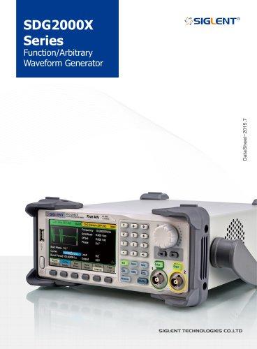 SDG2000X_DataSheet+Waveform Generator+Siglent
