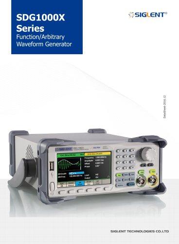 Siglent SDG1000X Waveform Generators Datasheet