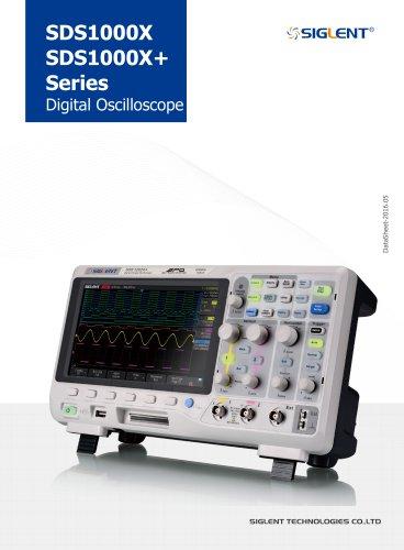 Siglent SDS1000X/X+ Series Oscilloscope Data sheet