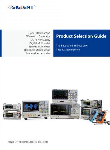 Siglent Selection Guide 2016