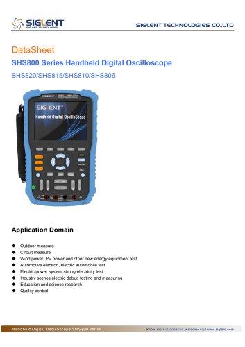 SIGLENT SHS800 Data Sheet