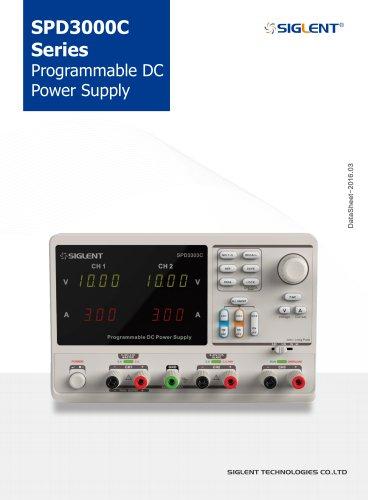 SPD3303C Series DataSheet+Siglent+Power Supply