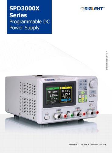 SPD3303X DataSheet+Power Supply+Siglent