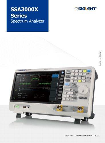 SSA3000X Series Datasheet+Siglent+Spectrum Analyzer