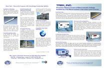 Trek Electrostatic Voltmeter Instruments