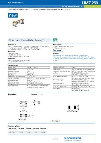 New product: UMZ 250