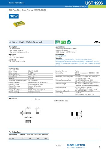 New product: UST 1206