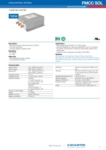 New products: EMC Products/ FMCC SOL