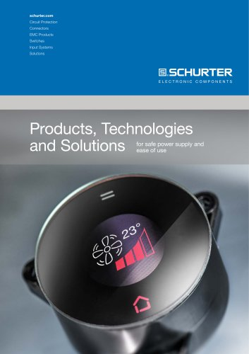 Products, Solutions and Technologies