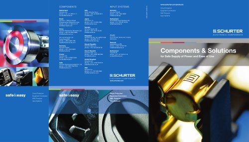 SCHURTER Components and Solutions