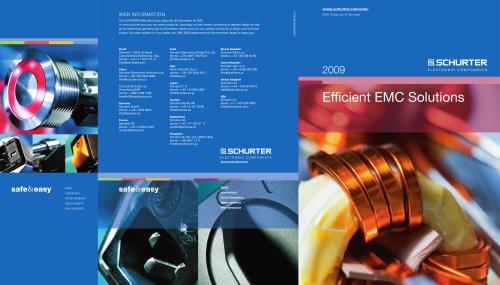 SCHURTER Efficient EMC Solutions
