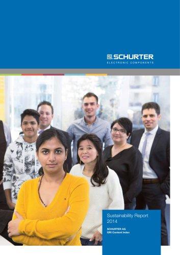 SCHURTER Sutainability Report