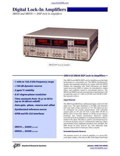 DSP Lock-in Amplifier