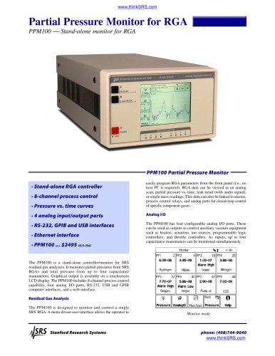 Partial Pressure Monitor