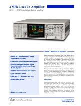 SR865 DSP Lock-In Amplifier
