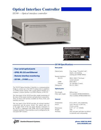 SX199 — Optical interface controller