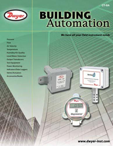 Building Automation Catalog (CT-BA)