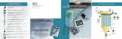 Dust Collection & Pneumatic Conveying Brochure (BC-DCPC)