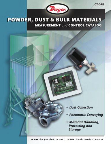 Powder, Dust & Bulk Materials Catalog (CT-DPB)