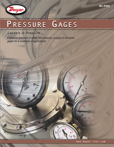 Pressure Gages Selection Guide (BC-PGG)