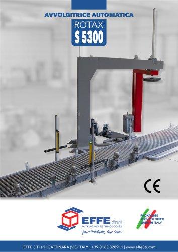 AVVOLGITRICE AUTOMATICA A BRACCIO ROTAX S5300