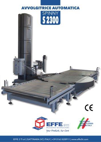 AVVOLGITRICE AUTOMATICA A TAVOLA SPINNY S2300