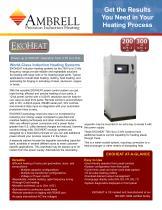 Ekoheat 300 kW / 1 kHz Induction Heating System