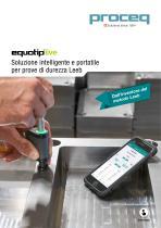 Equotip Live - Soluzione intelligente e portatile per prove di durezza Leeb