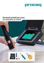 Strumenti portatili per prove non distruttive su bobine