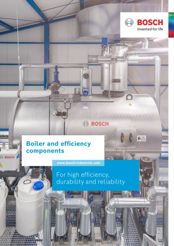 Boiler and efficiency components - For high efficiency, durability and reliability