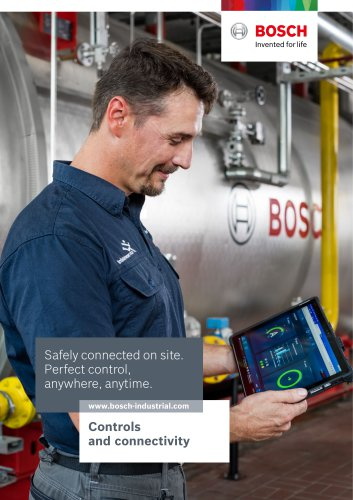 Controls and connectivity - Safely connected on site. Perfect control, anywhere, anytime.