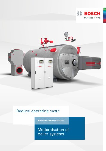 Modernisation of boiler systems - Reduce operating costs