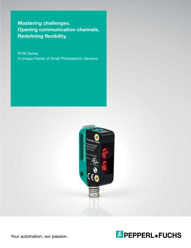 R100 Series | A Unique Family of Small Photoelectric Sensors