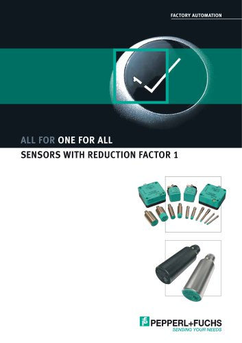 Sensors with reduction factor 1