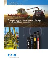 Competing at the edge of change The new standard for fluid conveyance
