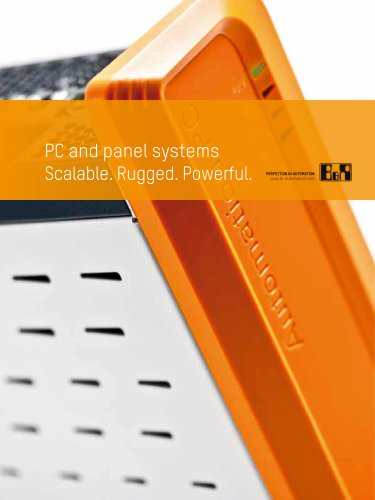 Brochure: PC- and panel systems