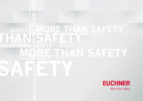 About EUCHNER