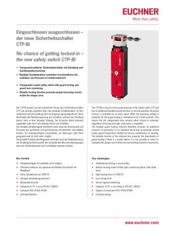 Safety switch CTP‑BI